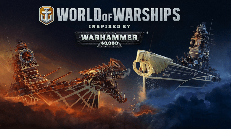 WoWS x Warhammer 40,000—Show Your Loyalty to the Imperium or Chaos