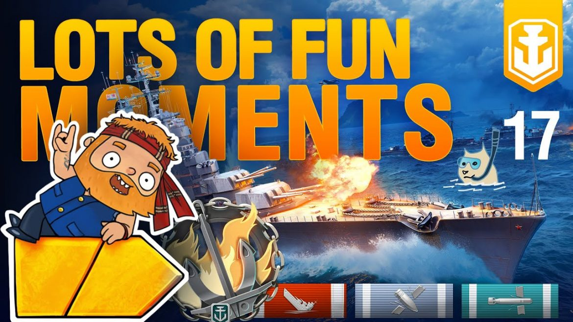 WoWS Show: Funny Moments – Cruisers