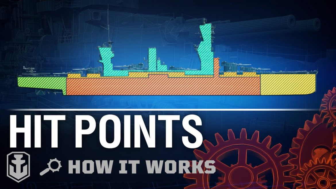 How it works: Hitpoints in World of Warships.