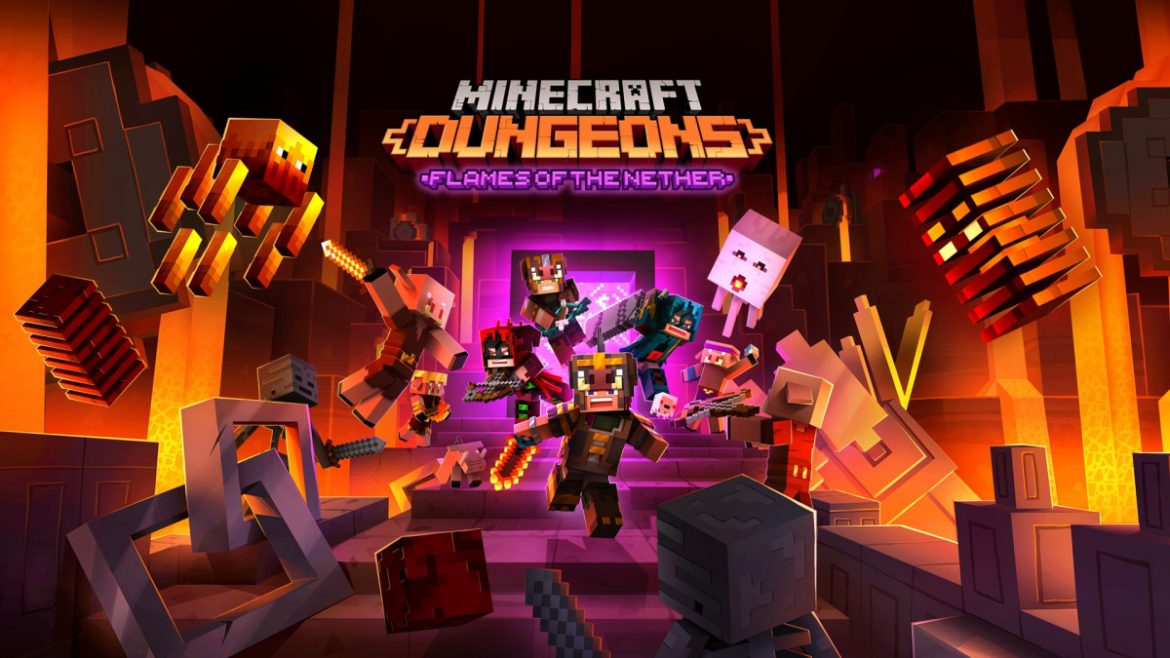 Minecraft Dungeons Flames of the Nether Available Now