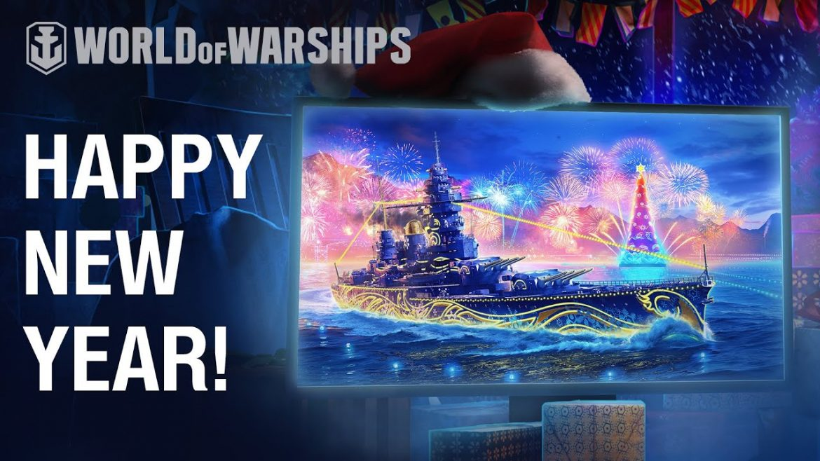 Happy 2021 from World of Warships developers!