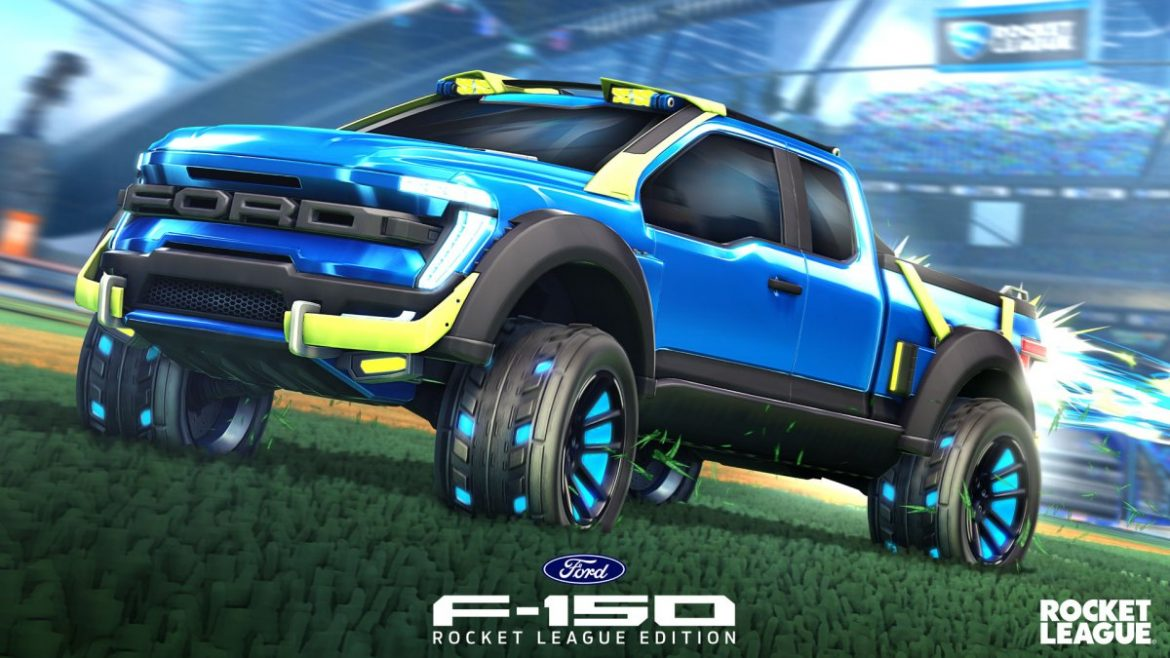 The Ford F-150 RLE Has Arrived in Rocket League