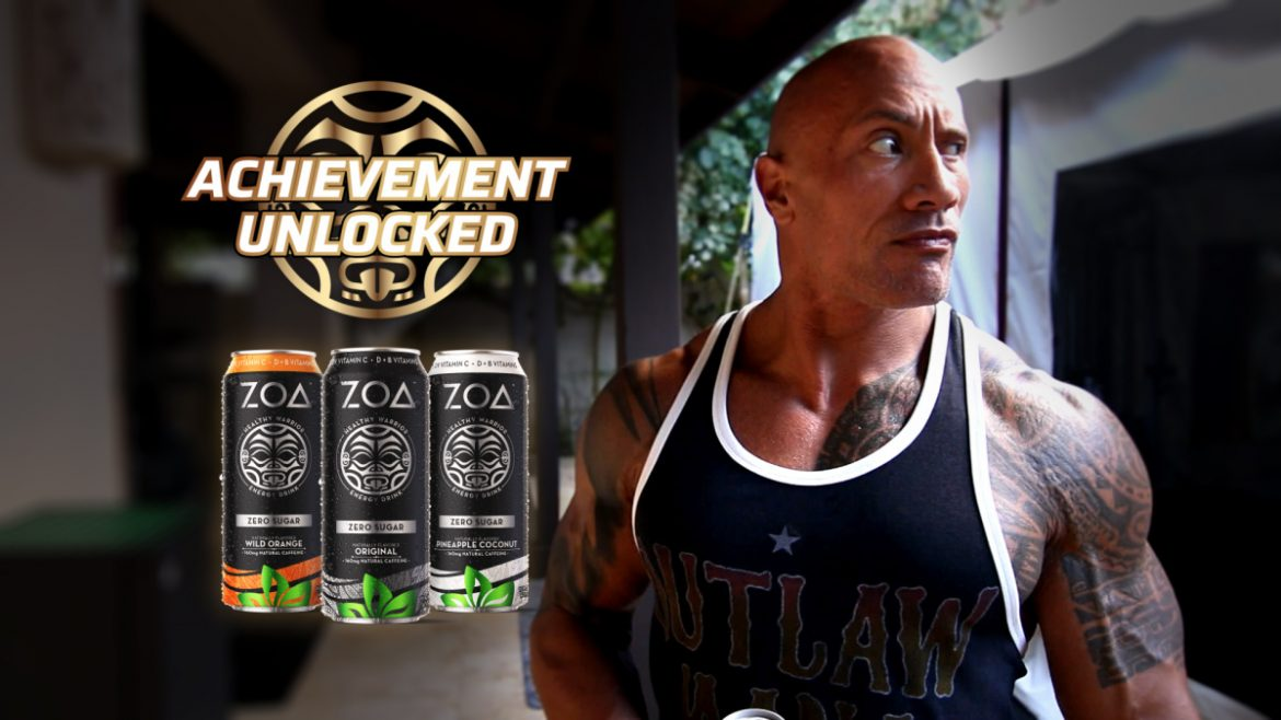 Xbox and Dwayne Johnson Bring ZOA Energy to Gamers