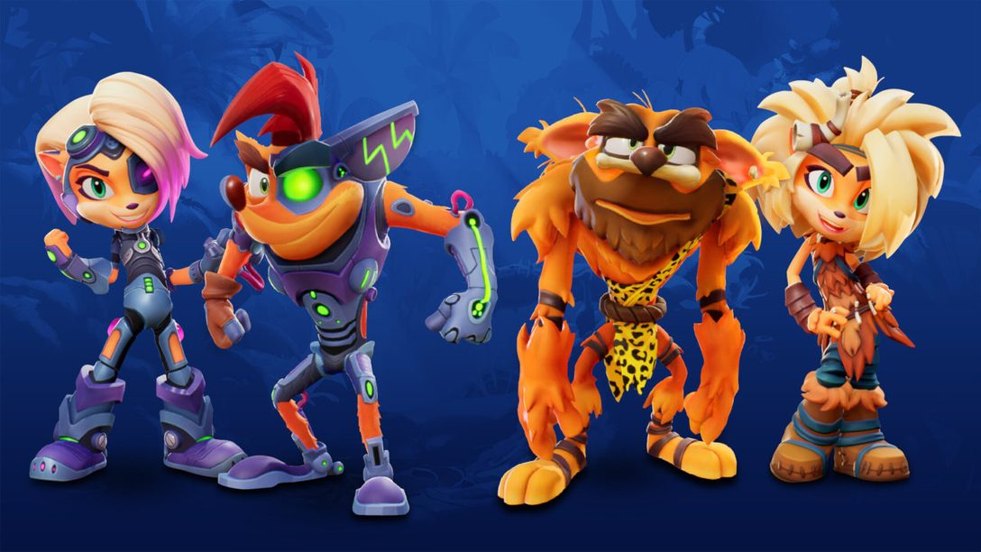 Crash 4 dev shares top 10 skins to celebrate launch on PS5