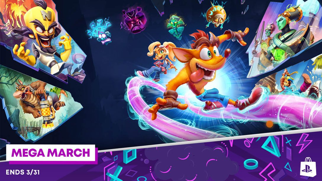 Mega March promotion comes to PlayStation Store