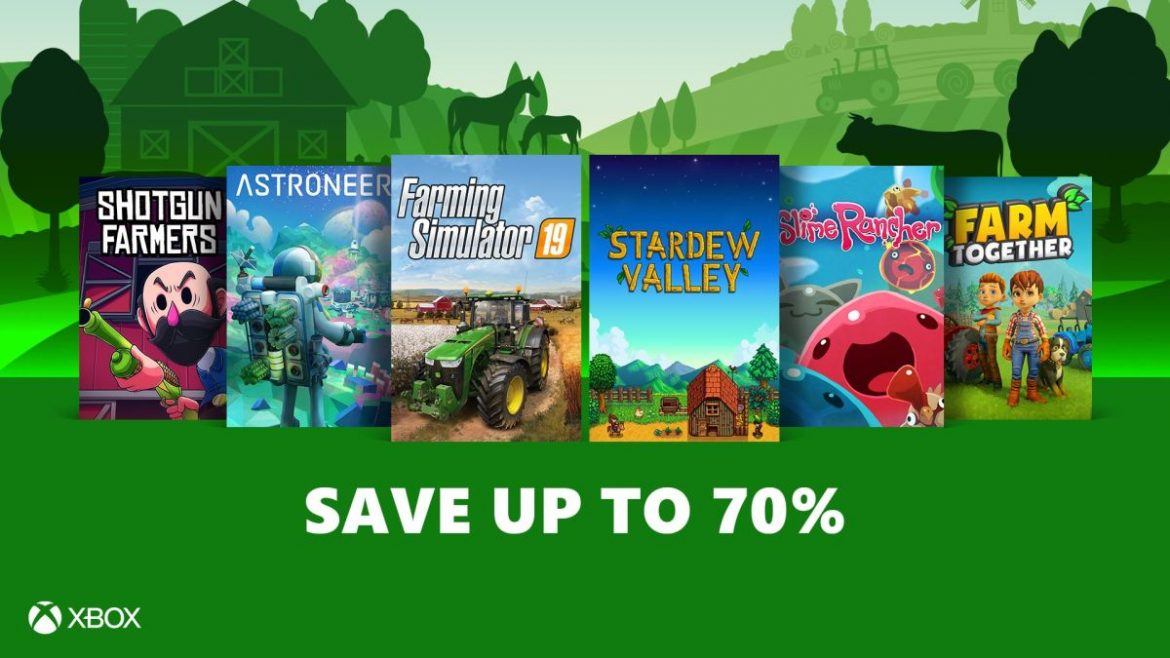 Harvest Your Crops with the ID@Xbox Farming Sale
