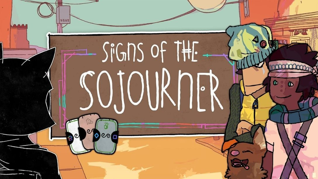 Signs of the Sojourner brings card-based conversations to PS4 March 16