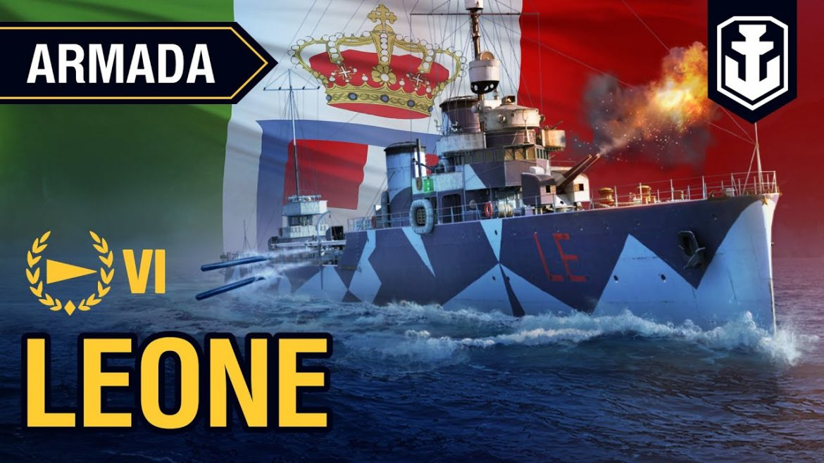 Armada. Leone destroyer. World of Warships guide
