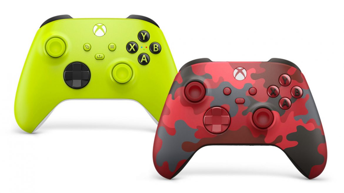 Make a Statement with the New Xbox Wireless Controllers: Electric Volt and Daystrike Camo Special Edition