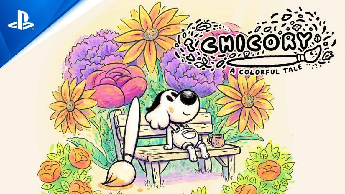 The world is your canvas in Chicory: A Colorful Tale, coming to PS5 and PS4 this spring