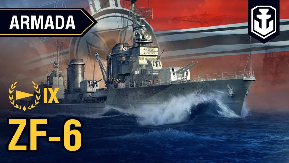 Armada. Destroyer ZF-6. World of Warships guide