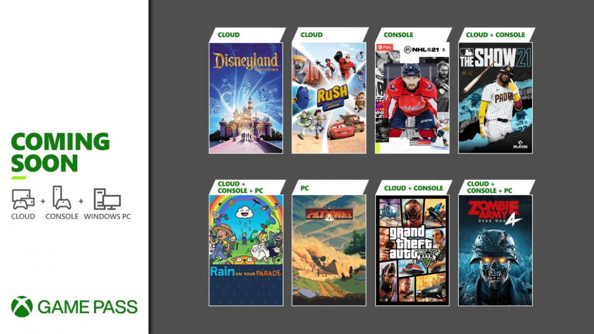 Coming Soon to Xbox Game Pass: Grand Theft Auto V, Xbox Touch Controls, and More