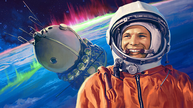 The 60th Anniversary of Yuri Gagarin's Legendary Flight: Let's Celebrate Together!