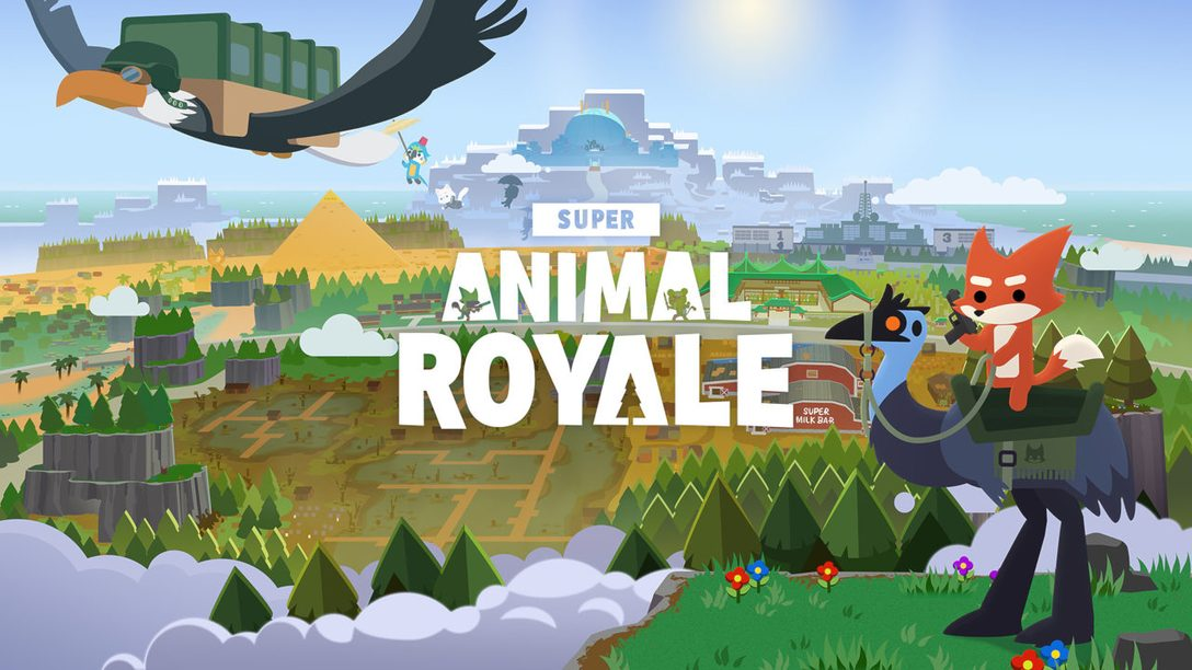 Super Animal Royale brings bonkers action to PS4 and PS5 later this year