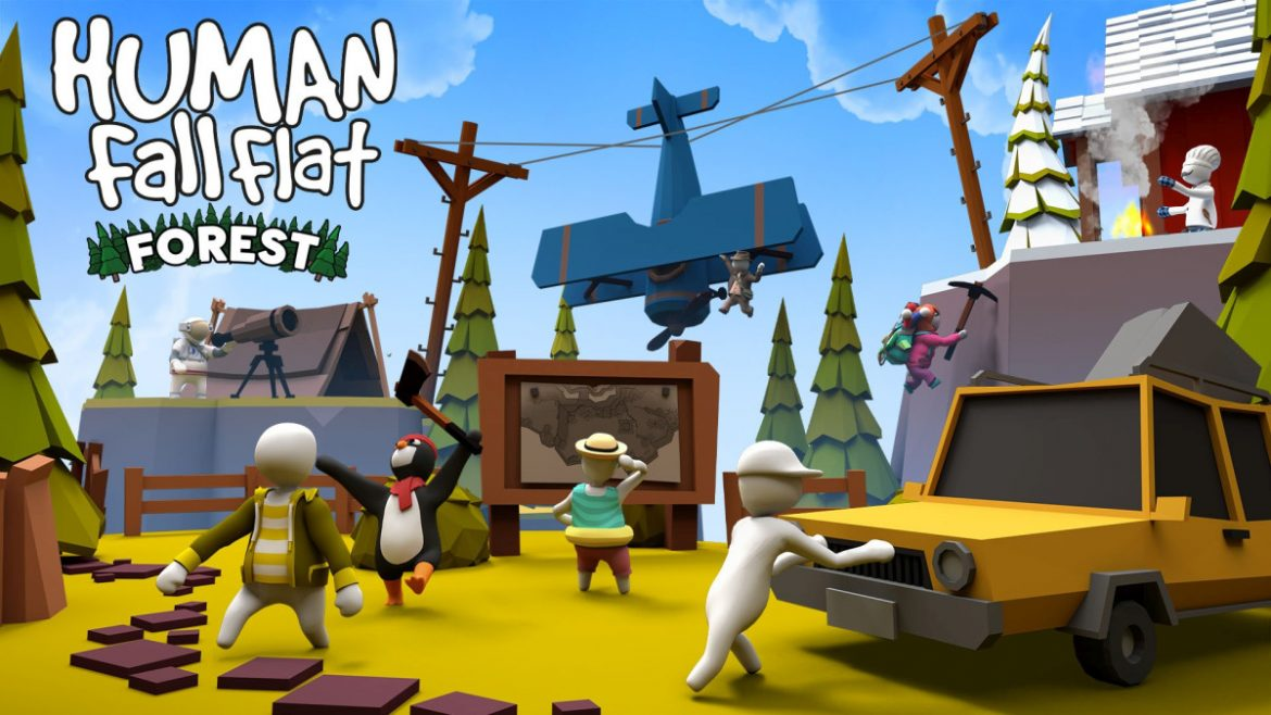 Human: Fall Flat Now Optimized for Xbox Series X|S Plus New Forest Level Out Now
