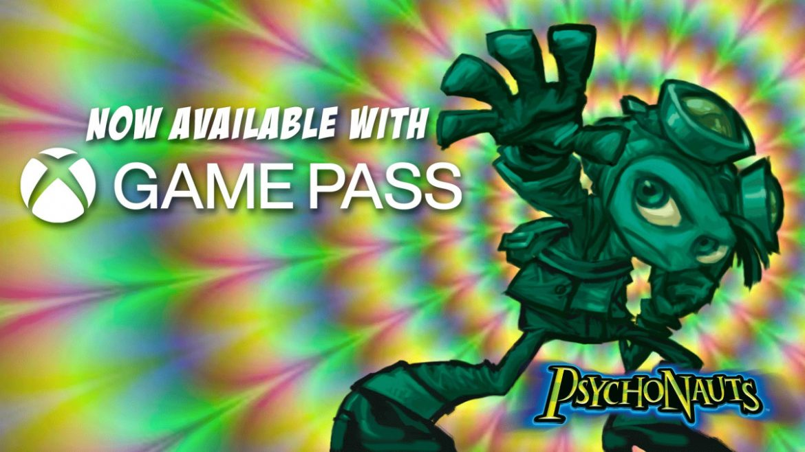 Psychonauts Available Now with Xbox Game Pass