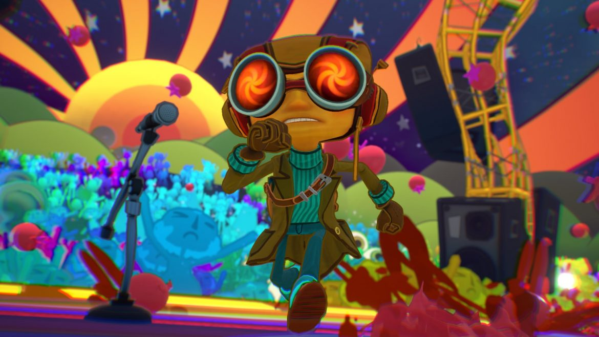 Tim Schafer and Ben Reeves on Game Informer's Psychonauts 2 Cover Story
