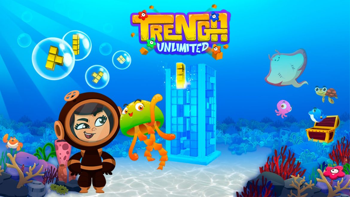 Puzzle Game Trenga Unlimited Available Now for Xbox One and Xbox Series X S