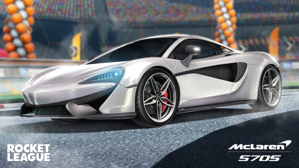 The McLaren 570S is Coming Back to Rocket League