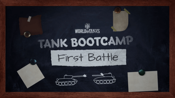Dive Into Episode #3 of Tank Bootcamp: First Battle