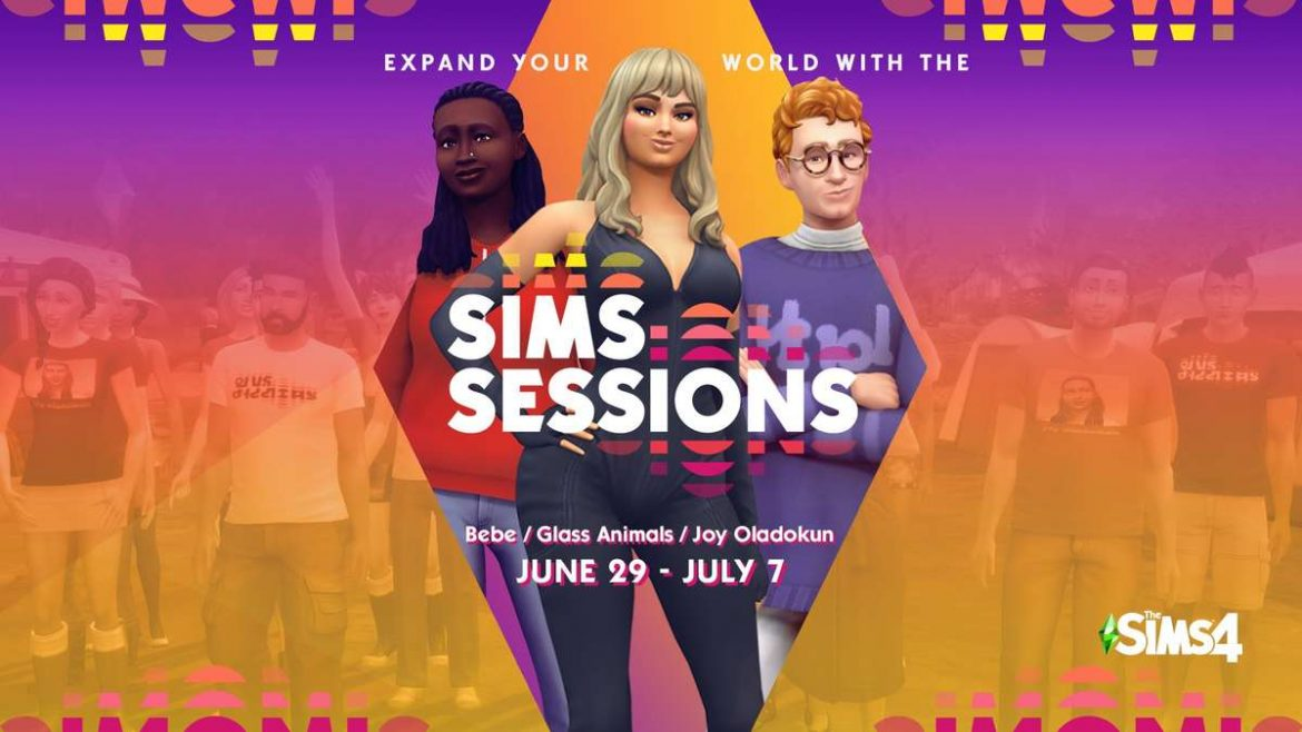 Rock Out with Bebe Rexha, Joy Oladokun, and Glass Animals in The Sims 4