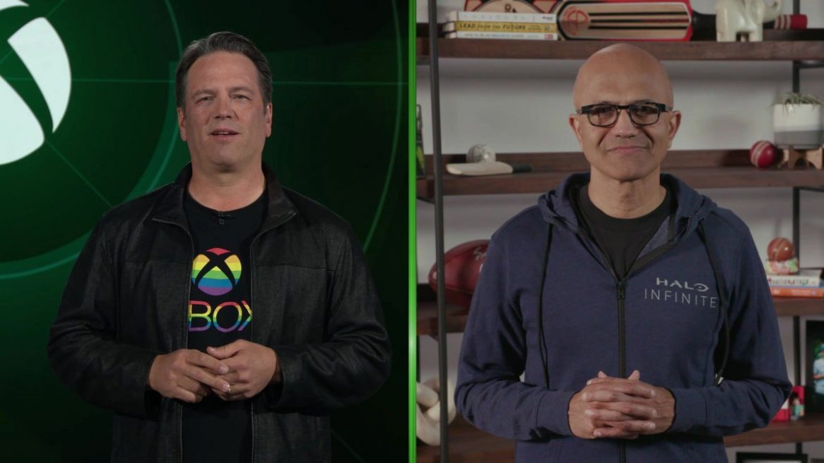 """Satya Nadella and Phil Spencer on Why Microsoft is """"All In"""" on Gaming"""