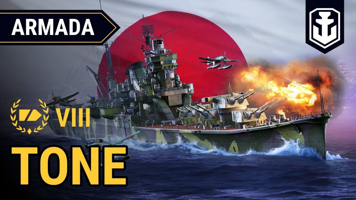 Armada: Tone – guide to using the Japanese Tier VIII cruise | World of Warships