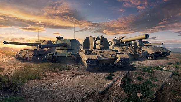 Changes to Vehicles and SPGs in Update 1.13