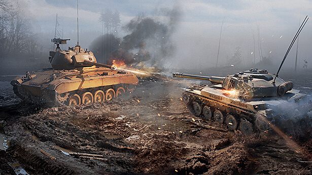Tank Wars: How to Play the AMX ELC bis and M24 Chaffee