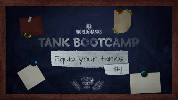 Episode #5 of Tank Bootcamp: Equipment, Consumables, Directives