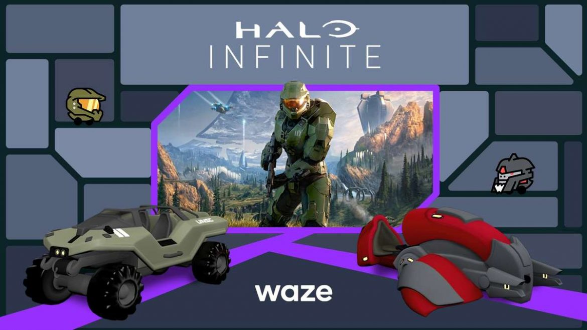 Banish Traffic with New Halo-themed Waze Content