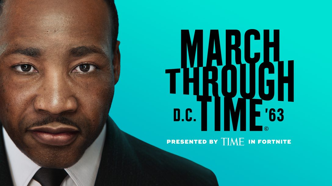 Celebrating MLK: TIME Studios presents March Through Time in Fortnite