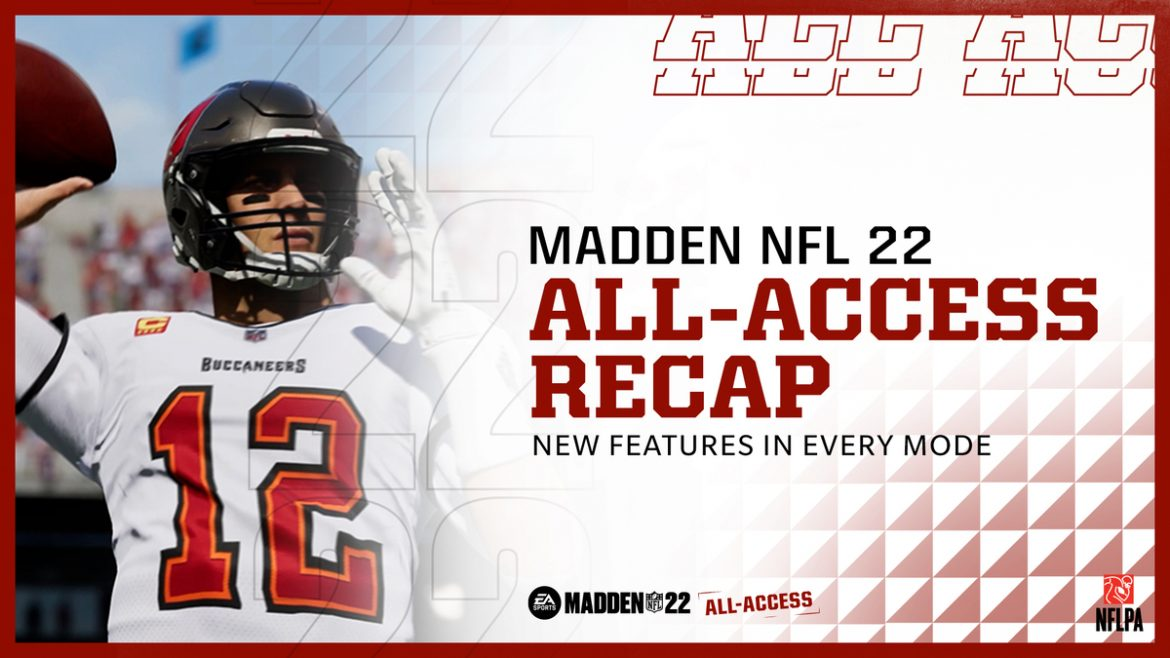Check Out All the New Features for Madden NFL 22 and Start Playing Today with EA Play