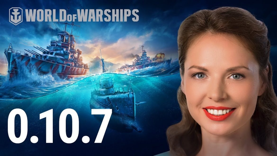 """Update 0.10.7. — """"Submarines in Ranked Battles""""   World of Warships"""