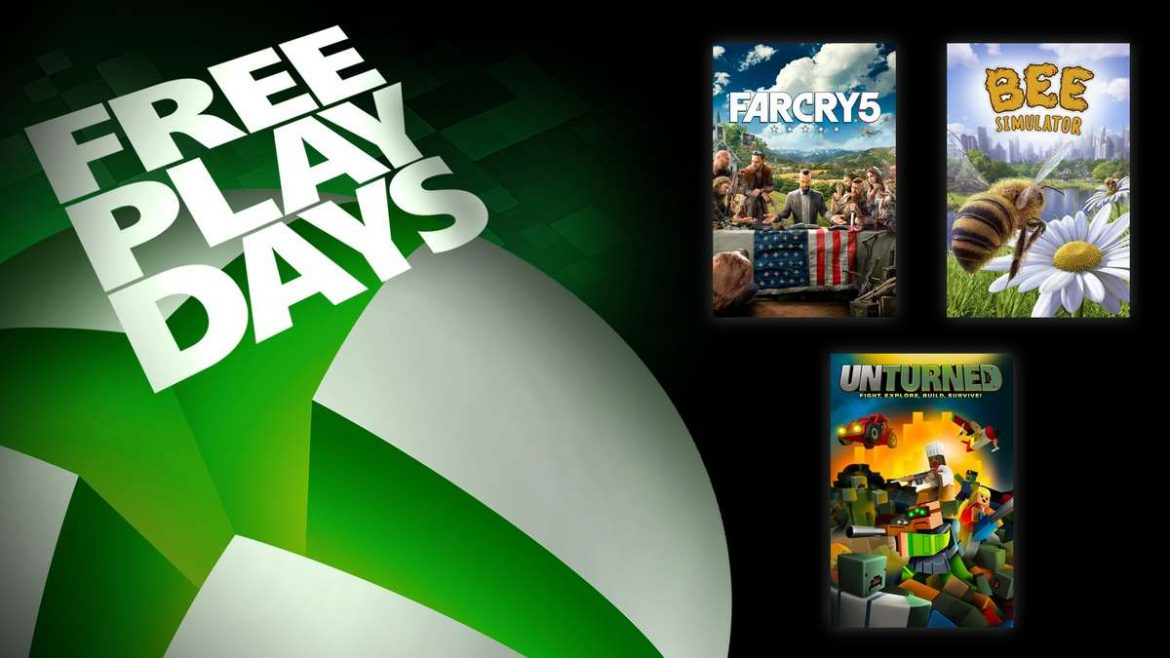 Free Play Days – Far Cry 5, Unturned, and Bee Simulator