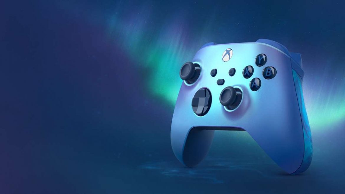 Shimmer Up Your Controller Collection with the Aqua Shift Special Edition