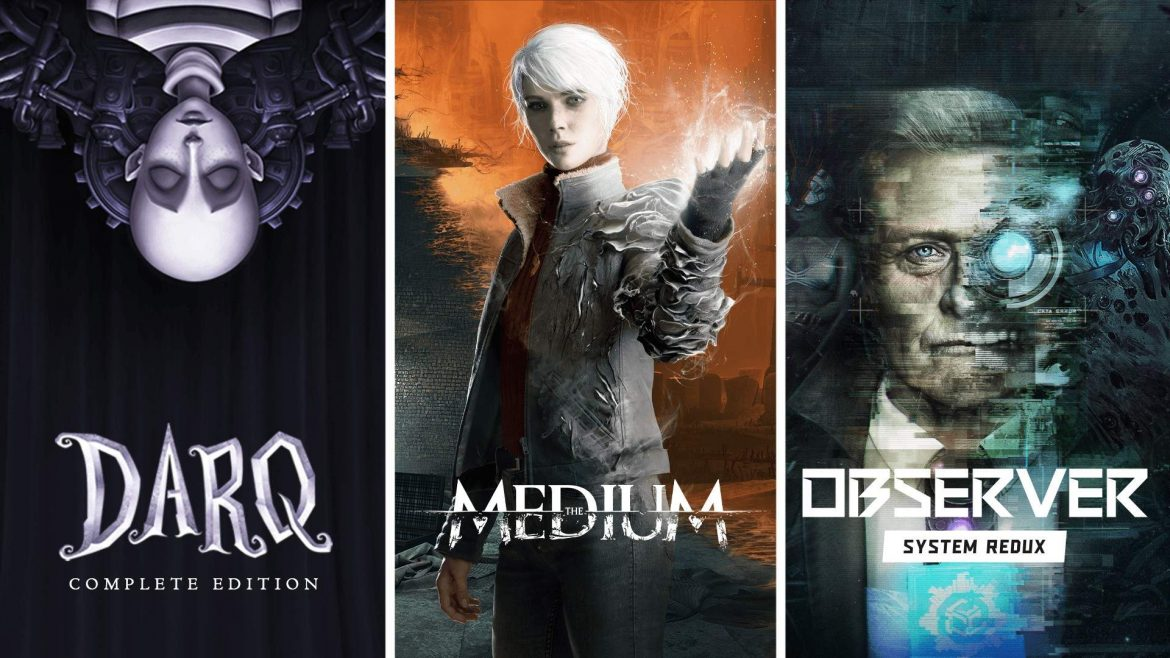 The Medium, Observer, and Darq Now Available Together in New Ultimate Horror Bundle