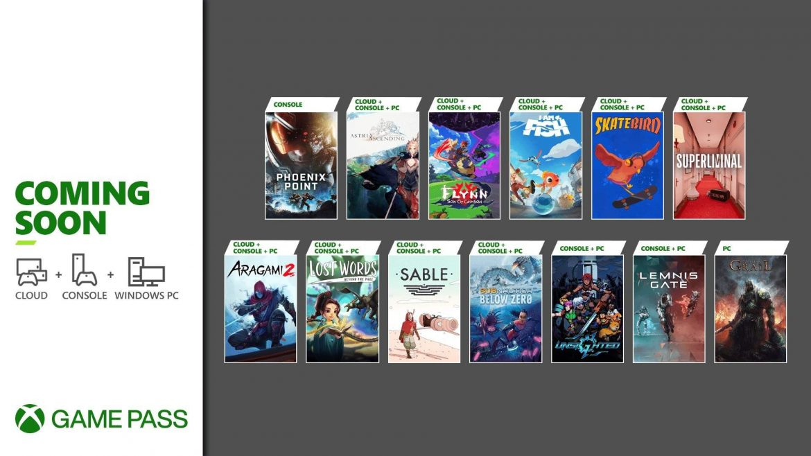 Coming Soon to Xbox Game Pass: Sable, Lemnis Gate, Aragami 2, and More