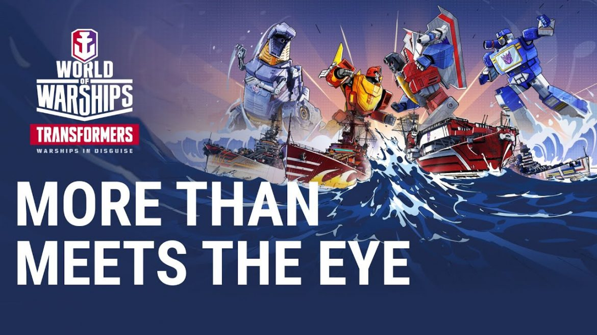 Transformers Return to World of Warships