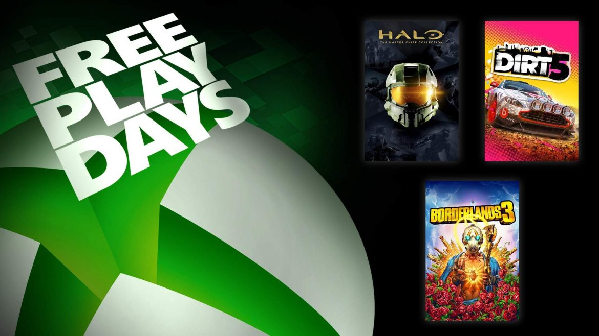 Free Play Days – Halo: The Master Chief Collection, Borderlands 3, and Dirt 5